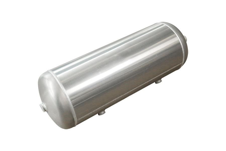 Duble-chamber alumlnum alloy air tank